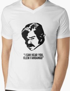 Toast of London 'I can hear you Clem Fandango' Mens V-Neck T-Shirt