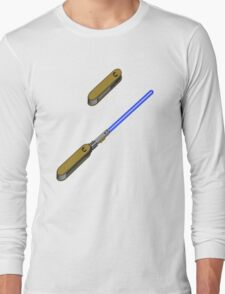 light-swiss-knife-blue-2 Long Sleeve T-Shirt