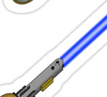 light-swiss-knife-blue-2 Sticker