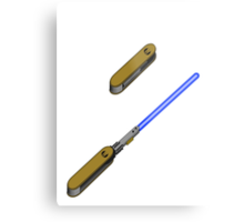 light-swiss-knife-blue-2 Metal Print