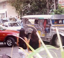 Philippine jeepneys.  by ccrcats