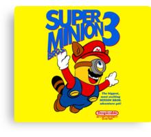 Super Minion Bros 3 Canvas Print