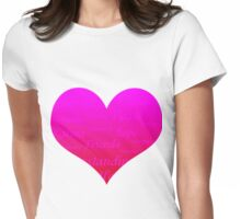 Heart of Hope Womens Fitted T-Shirt