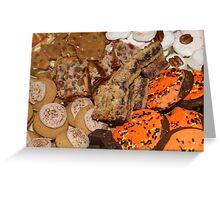 Cookies Greeting Card