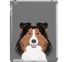 Jordan - Shetland Sheep Dog gifts for sheltie owners and dog people gift ideas perfect dog gifts iPad Case/Skin