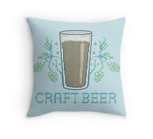 Craft Beer Throw Pillow