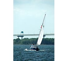 Sailing Charleston Harbor Photographic Print
