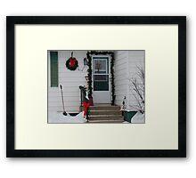 Winter scene #2 Framed Print