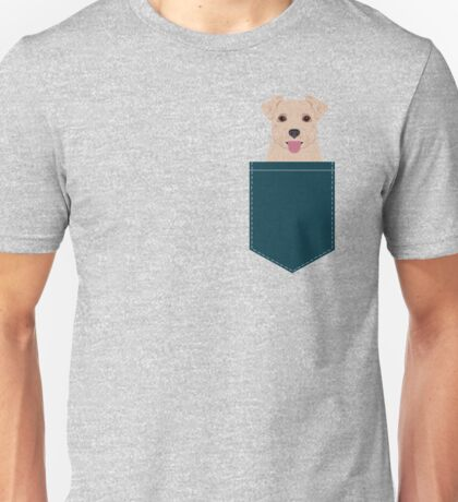 Blair - Norfolk Terrier dog art phone case perfect gift for dog person and dog people Unisex T-Shirt