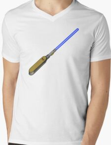 light-swiss-knife-blue-1 Mens V-Neck T-Shirt
