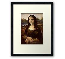 ACEO Mona Lisa I Framed Print
