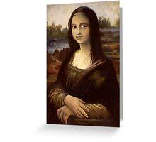 ACEO Mona Lisa I Greeting Card