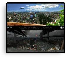 Ciudad de Mexico - 2 futuros Canvas Print