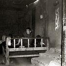 blind woman from Xinjiang  by dominiquelandau