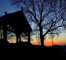 Cold December Sunrise by Dave Warren
