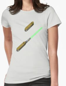 light-swiss-knife2 Womens Fitted T-Shirt