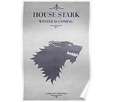 House Stark - Game of Thrones Poster