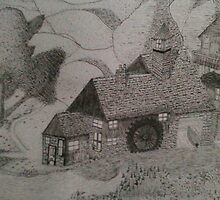 The Watermill House by Dylano1