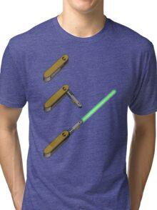 light-swiss-knife3 Tri-blend T-Shirt