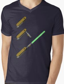 light-swiss-knife3 Mens V-Neck T-Shirt