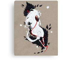 HORSE RIBBONS Canvas Print