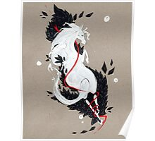 HORSE RIBBONS Poster
