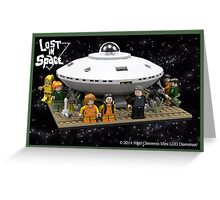 Lost in Space (LDD Version) Greeting Card