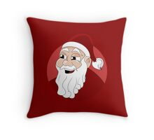 Santa Claus cartoon Throw Pillow