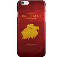 House Lannister - Game of Thrones iPhone Case/Skin
