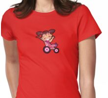 Stroller Baby Womens Fitted T-Shirt