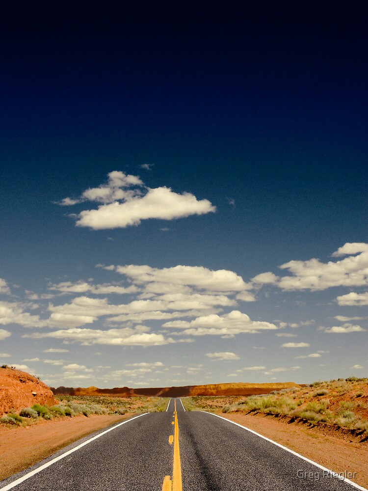 Lonely Road by Greg Riegler