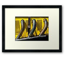Exhaust Framed Print