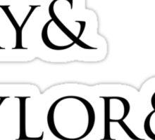 Queen: Mercury & May & Taylor & Deacon. Sticker