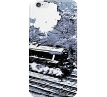 Scarborough Spa Express Graphic Novel iPhone Case/Skin
