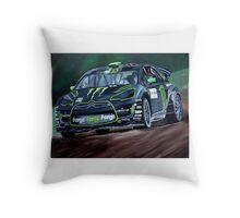 Liam Doran RallyCross Monster Citreon DS3 Throw Pillow