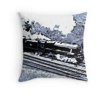 Scarborough Spa Express Graphic Novel Throw Pillow