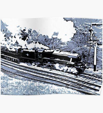 Scarborough Spa Express Graphic Novel Poster