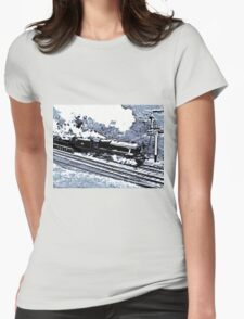Scarborough Spa Express Graphic Novel Womens Fitted T-Shirt