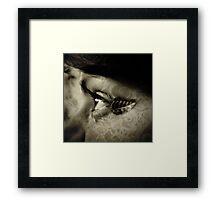 Twilight Noir Framed Print