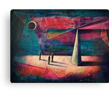 ECLIPSE - beginning of the end Canvas Print