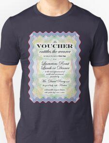 Dave Sag's Voucher T-Shirt