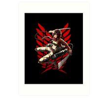 Mikasa 3dm Art Print