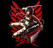 Mikasa 3dm by coffeewatson