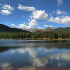 Echo Lake Portriat by Scott Ingram