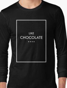 Like Chocolate - The 1975 (white) Long Sleeve T-Shirt