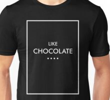 Like Chocolate - The 1975 (white) Unisex T-Shirt