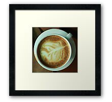 Cup of Cappuccino Framed Print