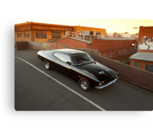 Black Ford XA Coupe Canvas Print