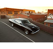 Black Ford XA Coupe Photographic Print