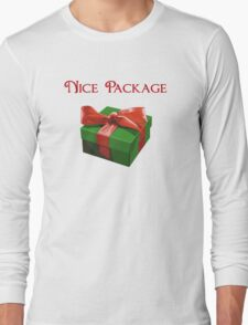 Nice Package Christmas Present Long Sleeve T-Shirt